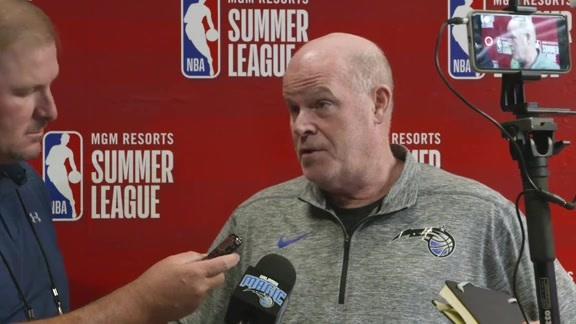Steve Clifford on Magic's Three-Team Trade
