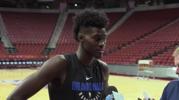 Jonathan Isaac on Magic's Three-Team Trade