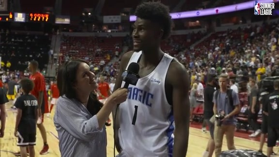 Walk-Off Interview: Jonathan Isaac