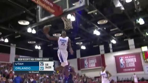 Melvin Frazier Jr.'s Windmill Slam