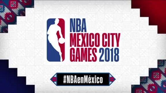 NBA Mexico City Games 2018 Announcement