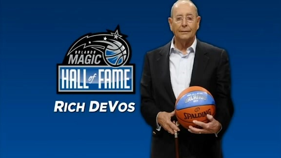 Magic Memories: Rich DeVos Inducted Into Magic Hall of Fame