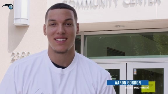 Aaron Gordon Hosts Basketball Camp For Local Youth