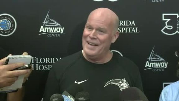 Training Camp Day 1: Steve Clifford