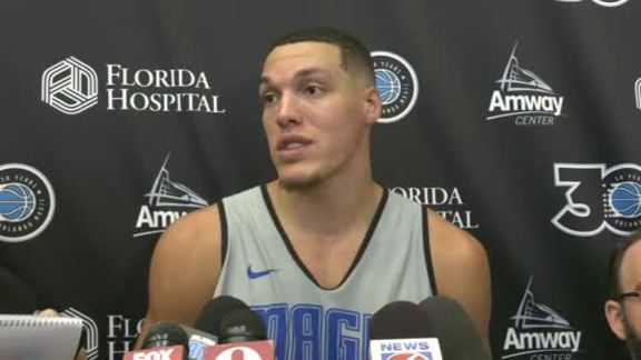 Training Camp Day 1: Aaron Gordon