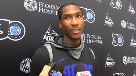 Magic Practice: Melvin Frazier Jr. (10/11)