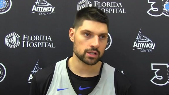 Magic Practice: Nikola Vucevic (10/15)