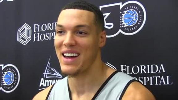 Aaron Gordon on Being Named a Captain