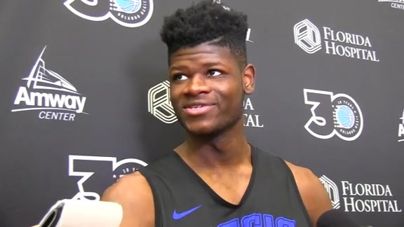 Magic Practice: Mohamed Bamba (10/18)