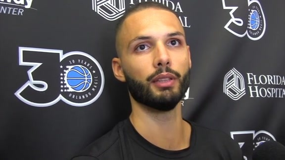 Magic Practice: Evan Fournier (10/18)