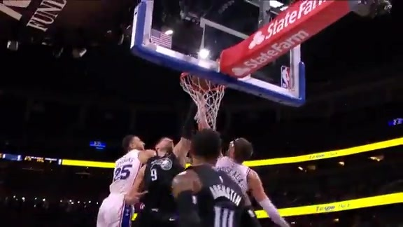 D.J. Augustin's Behind-the-Back Dish