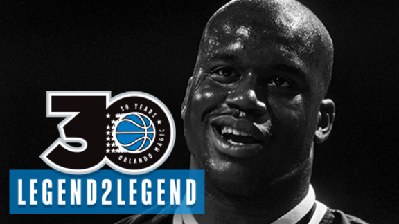 Legend2Legend: Shaq Breaking Backboards