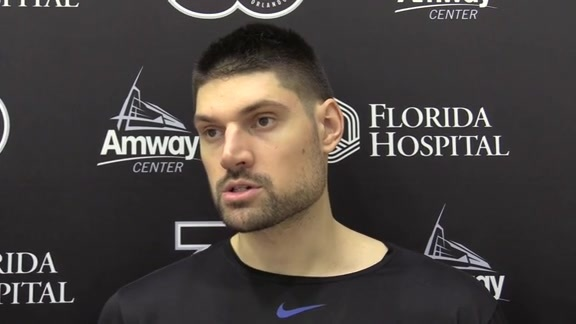 Magic Practice: Nikola Vucevic (12/9)