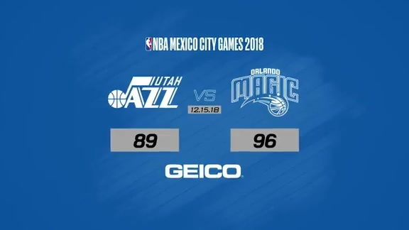 Game Highlights: Magic 96, Jazz 89