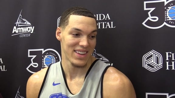 Magic Practice: Aaron Gordon (12/18)