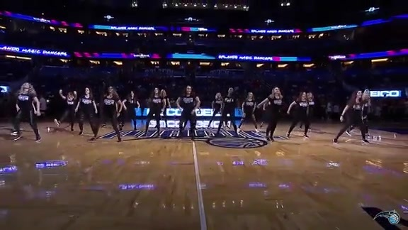 Orlando Magic Dancers 30th Anniversary Reunion Halftime Show