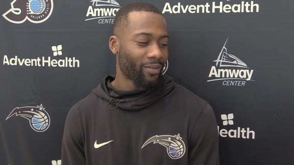 Magic Practice: Jonathon Simmons (1/26)