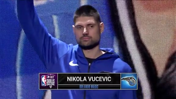 Vucevic's All-Star Skills Challenge Introduction