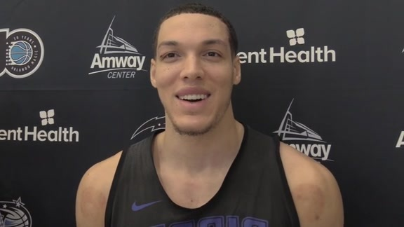 Magic Practice: Aaron Gordon (2/23)