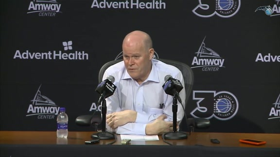 Steve Clifford's Postgame Press Conference (3/20)
