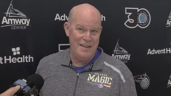 Magic Practice: Steve Clifford (3/24)