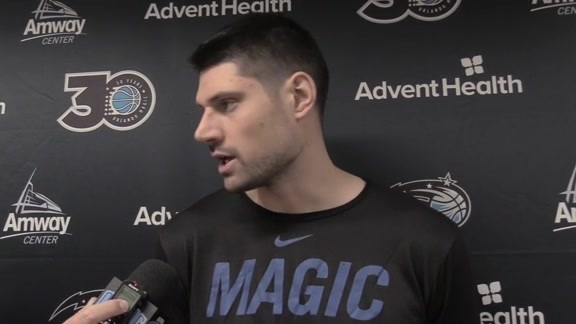 Magic Practice: Nikola Vucevic (3/24)