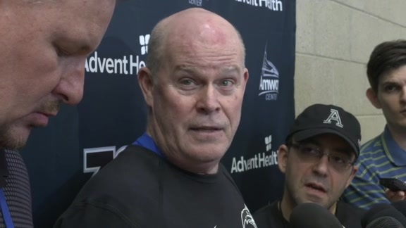 Game 3 Prep: Steve Clifford