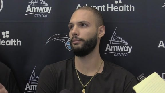 Game 4 Prep: Evan Fournier