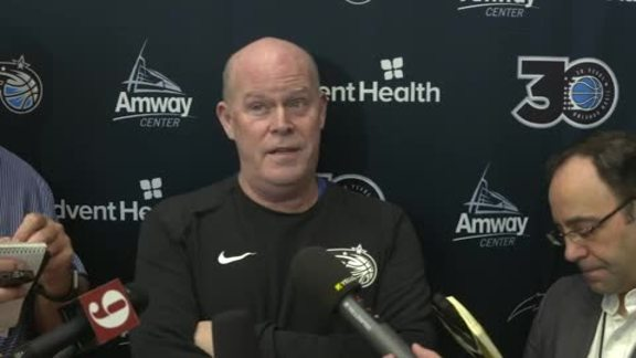 Game 4 Prep: Steve Clifford