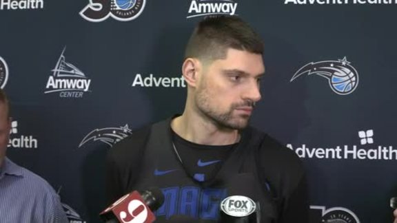 Game 4 Prep: Nikola Vucevic