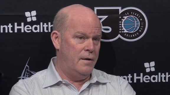 2018-19 Exit Interviews: Steve Clifford