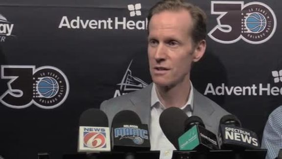 Jeff Weltman End of Season Press Conference