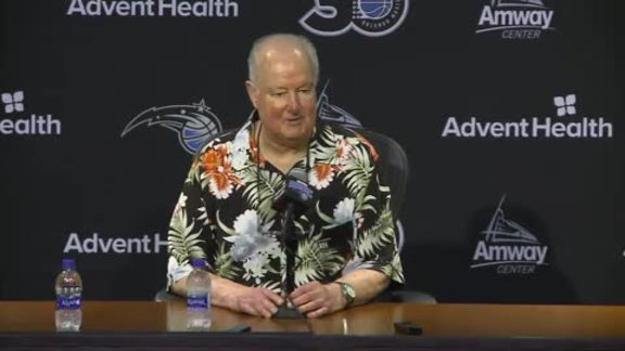 Pat Williams' Retirement Press Conference
