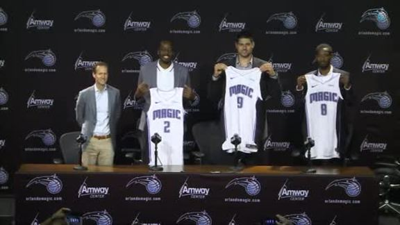 Magic's 2019 Free Agency Press Conference