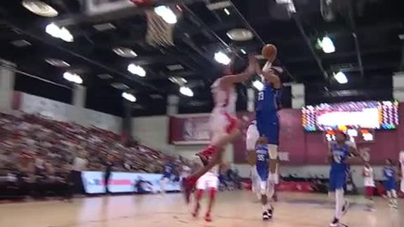 Jeffries Posterizing Summer League Slam