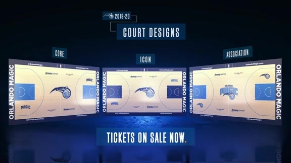 2019-20 Magic Court Designs