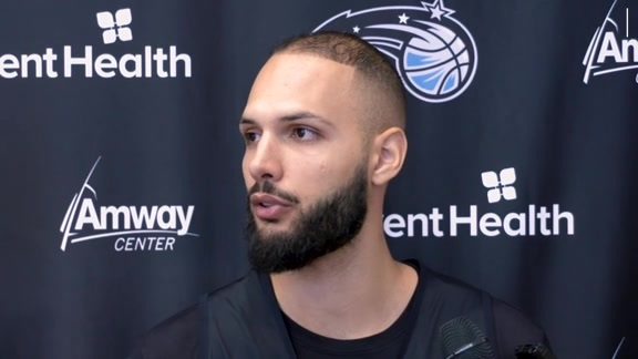 Training Camp Day 2: Evan Fournier