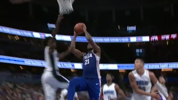 Isaac Rejects Embiid