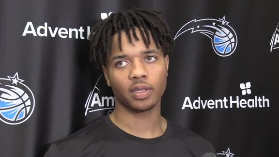 Magic Practice: Markelle Fultz (10/15)