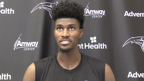 Magic Practice: Jonathan Isaac (10/16)