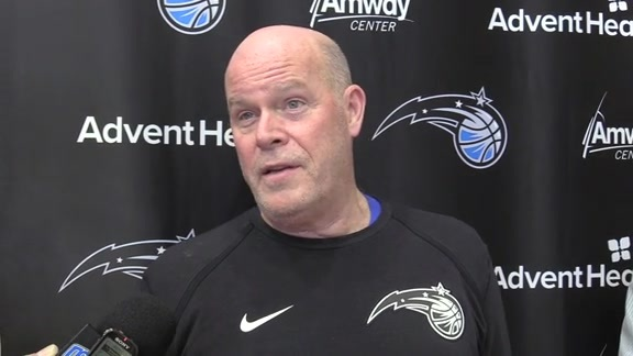 Magic Practice: Steve Clifford (10/21)