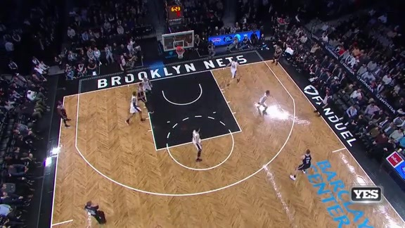 Highlights: Nets (5 3 pointers in 4th) vs. Spurs
