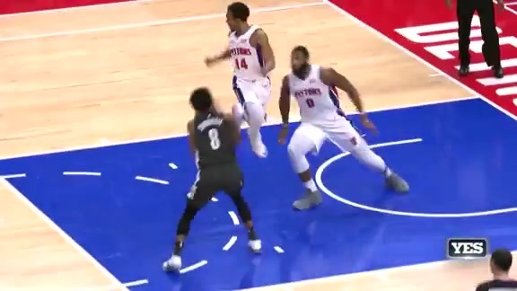 Highlights: Dinwiddie (22 points) vs. Pistons
