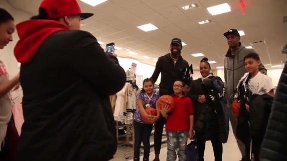 DeMarre Carroll and Dante Cunningham Surprise Single Mothers