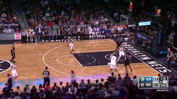 Allen Crabbe's top 10 threes