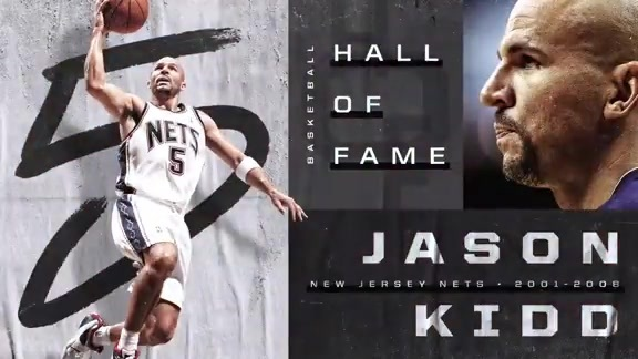 Jason Kidd inducted into Hall of Fame