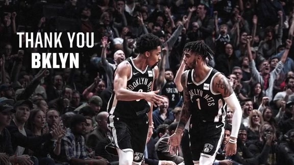 Thank You Nets Fans