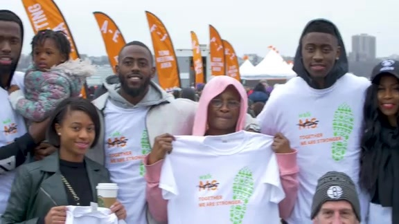 Caris LeVert participates in Walk MS: New York City