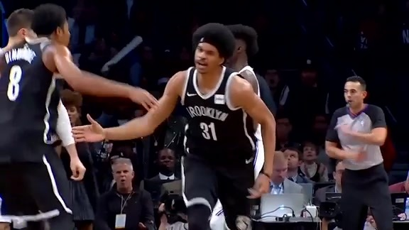 Jarrett Allen's Promising First Year