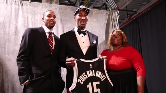 Rondae Hollis-Jefferson reflects on his Draft Night